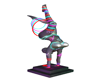 Neon Flexible Statue