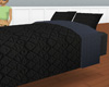 Black Quilted Bed