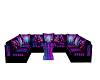 Club couch Neon set