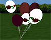 Wedding Balloon Burgundy