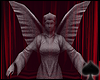 Cat~ Angel Statue