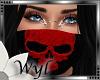 |Mask Skull Red| F