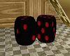 EP~Black and red Dice