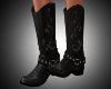 Cowgirl Boots Black