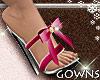 Heels - pink bow