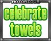 Celebrate Bath Towels