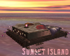 Sunset Floating Bed