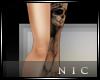[Nic]Left Leg Skull Tat