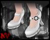 ✚Mary Jane White-Shoes