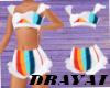 trapper white swimsuit