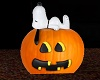 Snoopy on a pumpkin