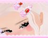 strawb hairclips ♡