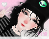 ❤Cap Hair Black