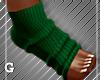 Christmas, Green Socks