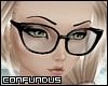 C** Cat Eye Glasses