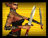 [Bee] Red Garter Swords