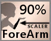 Scale ForeArm 90% F A