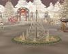 christmas,fountain