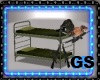 MILITARY BUNK BED POSES