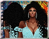 (RT)BLACK DALIA HAIR