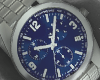 Blue Plated Watch