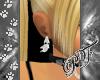 (PF)Ghost Earrings F