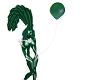 green ballon