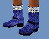 Blue Bad Boy Boots