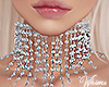 Sterling Diamond Choker
