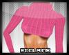 E~ Sexy Sweater Pink