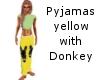 pyjamas yellow D