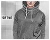 Grey High Collar Sweater