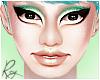 Green Glitter Meshead