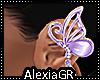 [A] Silk Purple Buterfly