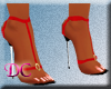 (DC)Floss Red Sandals