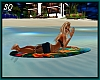 Surfboard Kiss