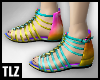 [TLZ]Rainbow sandals