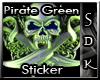 #SDK# Pirate Green