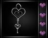 e Black Heart Earrings