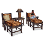 Rustic Chair Set