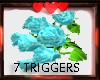ROSES HANDHELD 7TRIGG/AQ