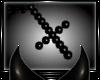 {D} Cross Necklace