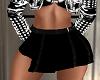 Little Black FLirt Skirt