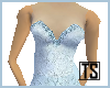 Blue Bridesmaid in Lace