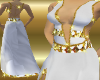 (LL)White & Gold Gown