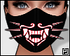 ₄ Red Neon Mask