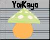 YK  Mushroom Pet *Lime