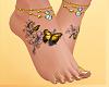 Tatoo with foot