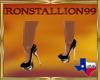 IS Black Sparkle Heels