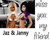 Jaz n Janny Sticker